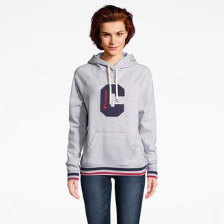 Champion Heritage Fleece Po Hood Long Sleeve Hooded Neck T-Shirt-Womens