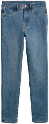 H&M Skinny High Ankle Jeans - Blue