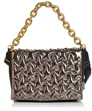 Furla Bomber Small Leather Shoulder Bag