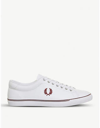 Fred Perry Underspin leather trainers