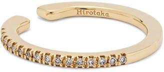 Hirotaka - Gossamer 10-karat Gold Diamond Ear Cuff