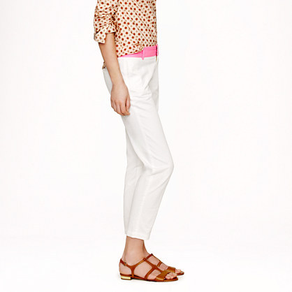 J.Crew Scout chino with contrast waistband