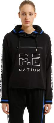 P.E Nation The Blind Pass Cropped Hooded Sweatshirt