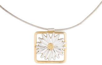Tiffany & Co. Framed Daisy Pendant Necklace $425 thestylecure.com
