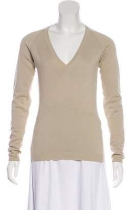 Burberry V-Neck Lightweight Sweater