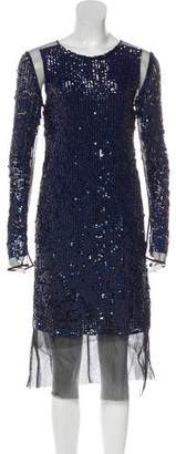Emilio Pucci Sequin Tulle Dress