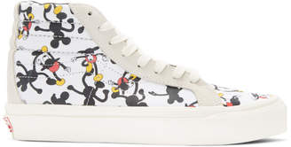 Vans White Geoff McFetridge Edition OG SK8-Hi LX High-Top Sneakers