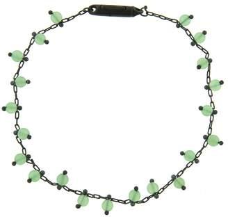 Ten Thousand Things Chrysoprase Fine Chain Bracelet - Sterling Silver