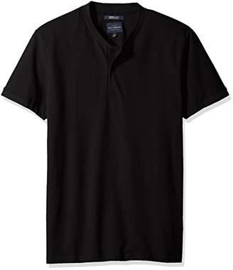 Lucky Brand Men's Coolmax Bomber Polo TEE Shirt