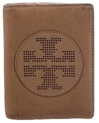 Tory Burch Leather Logo Cardholder