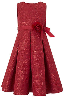 Monsoon Ruby Jacquard Dress