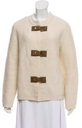 Tory Burch Merino Wool Knit Jacket