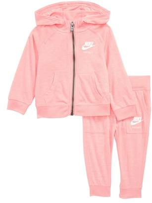 Nike Zip-Up Hoodie & Pants Set