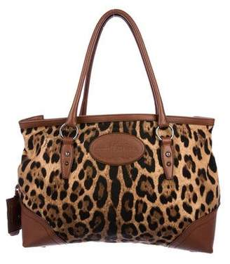 Dolce & Gabbana Leopard Shoulder Bag