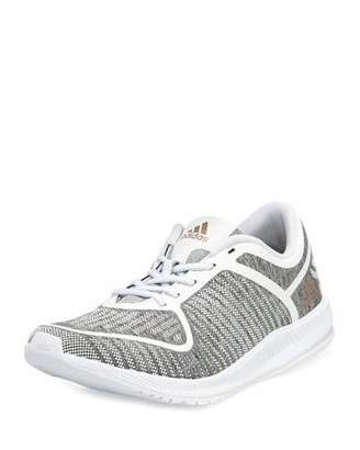 Adidas Athletics Bounce Lace-Up Sneakers, Light Gray $90 thestylecure.com