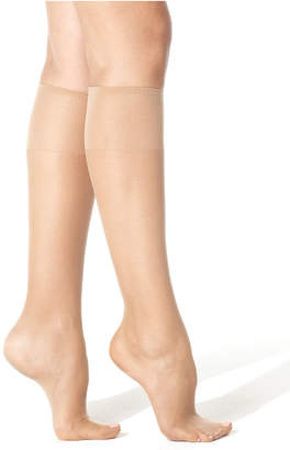 Hanes Women's Silk Reflections Knee Highs Silky Sheers 775