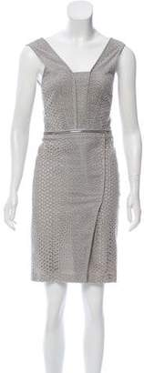Yigal Azrouel Embroidered Eyelet Dress