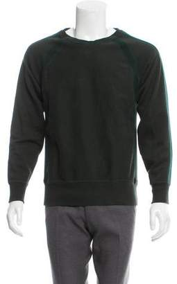 Engineered Garments Striped Crew Neck Sweater