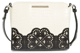 Brahmin Magnolia Carrie Leather Crossbody Bag - Black $295 thestylecure.com