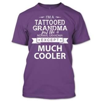 DAY Birger et Mikkelsen Online Store 247 I'm A Tattooed Grandma T Shirt, Tattooed Grandma Shirt, Gift for Mother's Unisex (M,Purple)