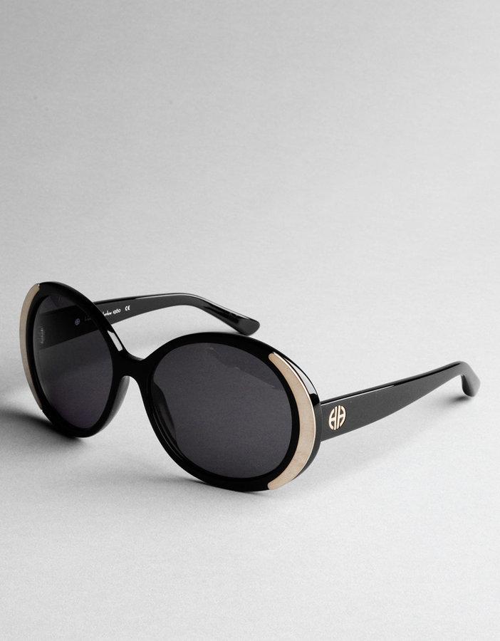 HOUSE OF HARLOW 1960 Oversized Round Sunglasses