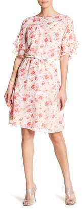 Rabbit Rabbit Rabbit Belted Floral Dress