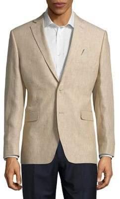 Black & Brown Black Brown Classic Linen Jacket