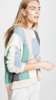 ADAM by Adam Lippes Colorblock Cashmere Sweater