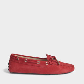 Tod's Heaven driving suede loafers