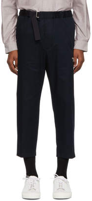 Oamc Navy Cropped Regs Pants