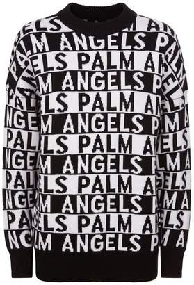 Palm Angels Wool Logo Sweater