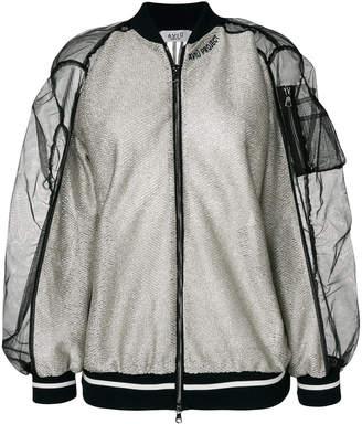 Aviu contrast bomber jacket