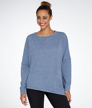 Champion Asymmetrical Knit Sweatshirt