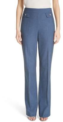 St. John Summer Bella Double Weave Pants