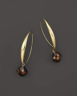 Bloomingdale's Smoky Quartz Drop Earrings in 14K Yellow Gold - 100% Exclusive
