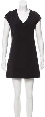 Leith V-Neck Mini Dress