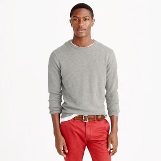 Slim Italian cashmere crewneck sweater $225 thestylecure.com