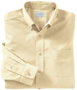 L.L. Bean L.L.Bean Men's Wrinkle-Free Classic Oxford Cloth Shirt, Traditional Fit