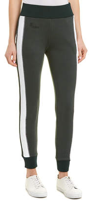 Fendi Elastic Waist Side Stripe Pant