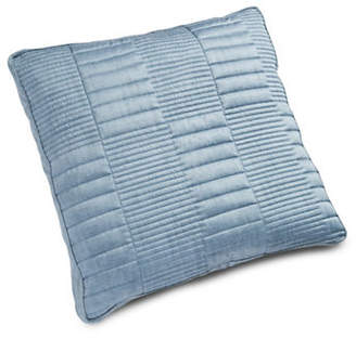 Hotel Collection Colonnade Indigo Quilted Euro Pillow Sham