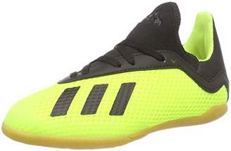 adidas Boys' X Tango 18.3 in J Footbal Shoes Core Black/Solar Yellow