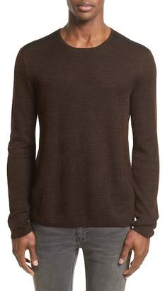 John Varvatos Collection Waffle Knit Sweater