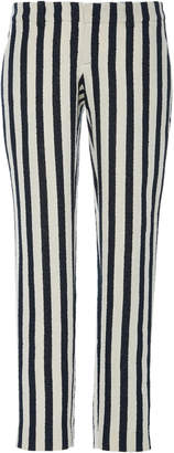 SOONIL Stripe Tailored Crepe Pants