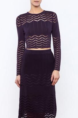 Lucy Paris Slim Knit Pullover $48 thestylecure.com