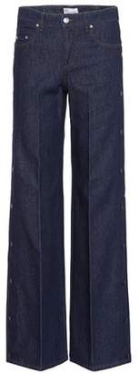 RED Valentino Wide-leg denim jeans