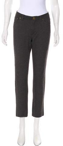 Marc by Marc Jacobs Mid-Rise Straight Leg Pants