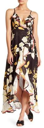 Flying Tomato Bring Her Flowers Hi-Low Maxi