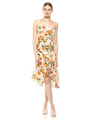Parker Women's Millie Sleeveless Ruffle Front Midi Dress
