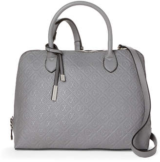 Christian Lacroix Cxl By Clemence Embossed Dome Satchel