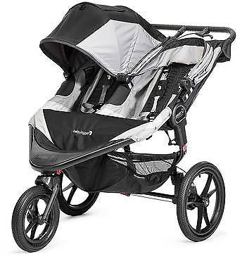 Baby Jogger Baby Jogger Summit X3 Double - Black/Gray